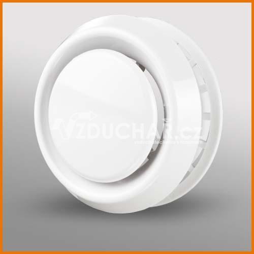 Distribuční prvky - DAVBR  - plastový talířový ventil univerzální