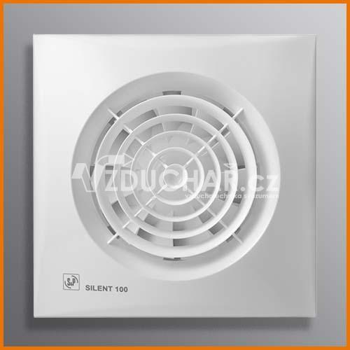 Ventilátory - SILENT - velmi tichý ventilátor pro odvod vzduchu z toalety, koupelny, kuchyně