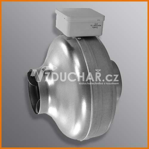 Ventilátory - CK - radiální kovový potrubní ventilátor do kruhového potrubí
