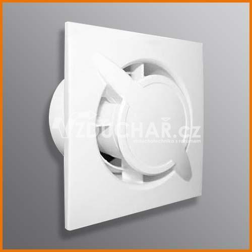 Ventilátory - QB100 - moderní ventilátor pro odvod vzduchu z toalety nebo koupelny