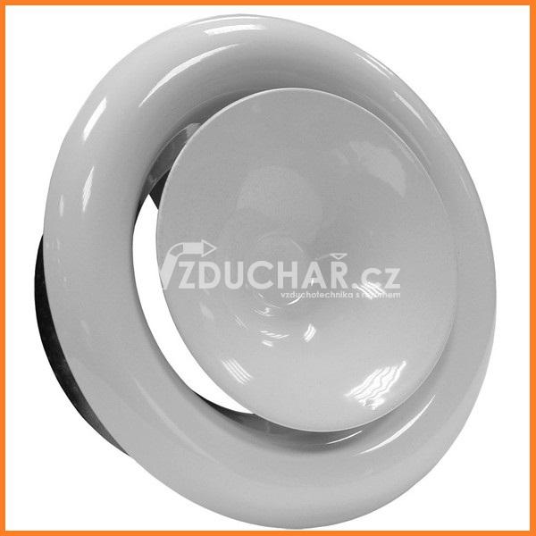 Distribuční prvky - PDVS - kovový talířový ventil pro přívod vzduchu