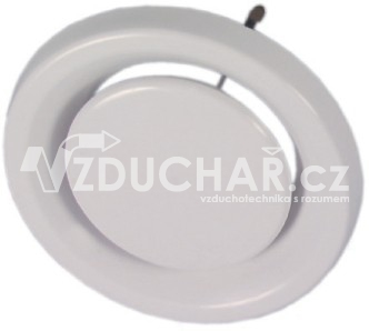 Distribuční prvky - BALANCE E - plastový kruhový ventil pro odvod vzduchu