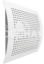 Distribuční prvky - BOR-S - stěnový čtvercový difuzor pro přívod vzduchu s nadčasovým designem