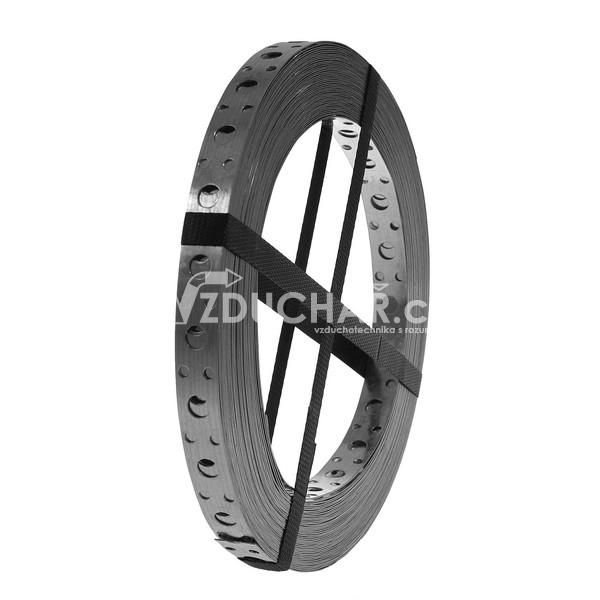 Montážní materiál - PZ - ohebný perforovaný ocelový pásek