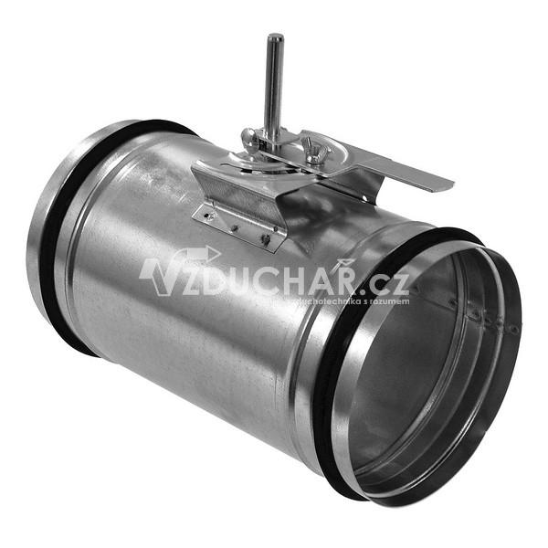 Příslušenství - KRT-K Kruhová těsná uzavírací klapka s kovovým ovládáním
