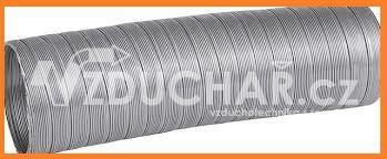Vzduchovody - SEMIVAC - ohebné hliníkové potrubí pro rozvody vzduchu