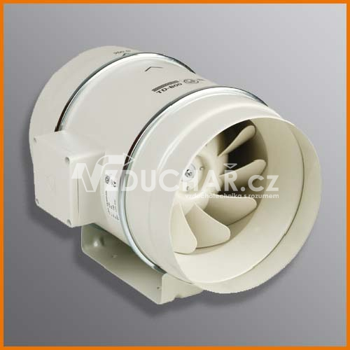 Ventilátory - TD MIXVENT - spolehlivý ventilátor do kruhového potrubí