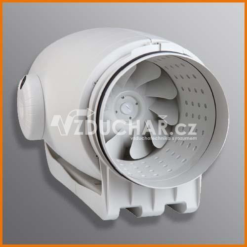 Ventilátory - TD SILENT - ultra tichý ventilátor do kruhového potrubí