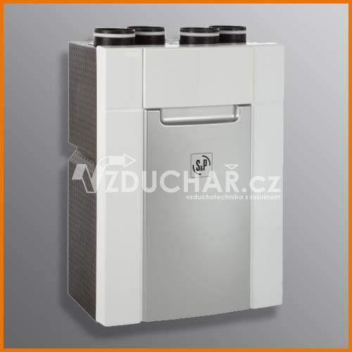 Rekuperační jednotky - DOMEO 210 - malá komfortní větrací jednotka s rekuperací tepla pro větrání menších domů a bytů