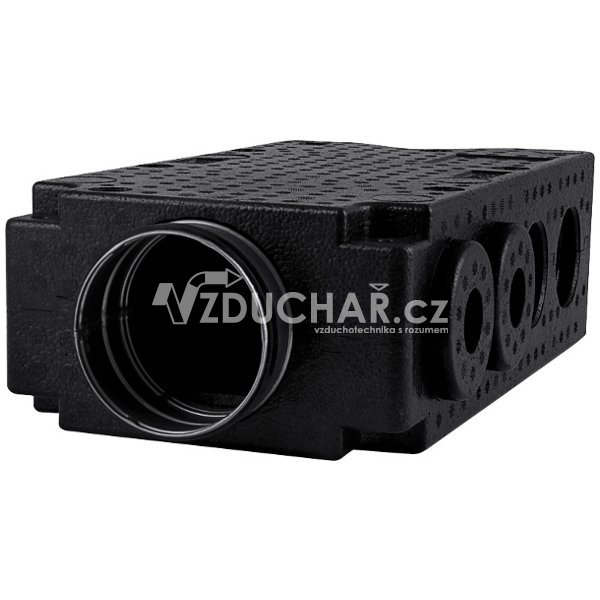 Vzduchovody - Distribuční box - ROZ-EPP-125 - pro rozvody vzduchu