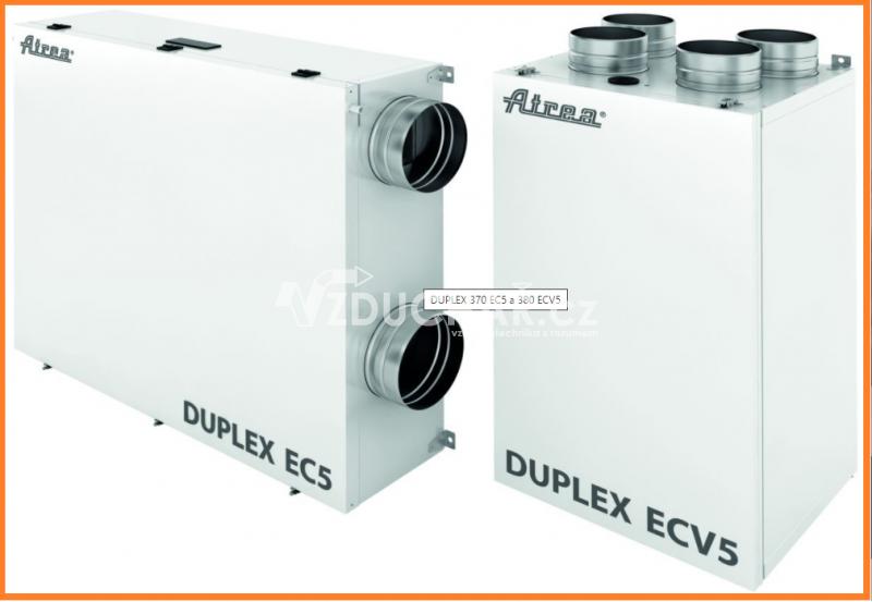 Rekuperační jednotky - DUPLEX EC5/ECV5 s regulací CP