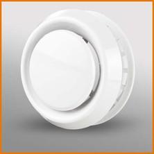 DAVBR  - plastový talířový ventil univerzální