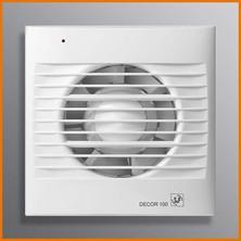 DECOR - ventilátor pro odvod vzduchu z toalety, koupelny, kuchyně
