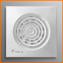 SILENT - velmi tichý ventilátor pro odvod vzduchu z toalety, koupelny, kuchyně