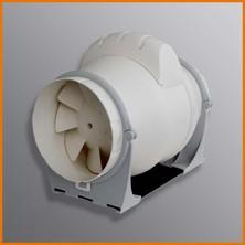 AXM - ventilátor do kruhového potrubí