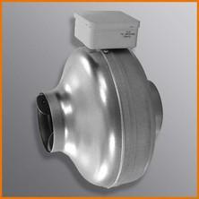 CK - radiální kovový potrubní ventilátor do kruhového potrubí