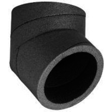 OBLOUK 45° pro potrubí HR-WTW - izolovaný potrubní systém