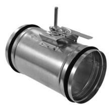 KRT-K Kruhová těsná uzavírací klapka s kovovým ovládáním