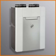 DOMEO 210 - malá komfortní větrací jednotka s rekuperací tepla pro větrání menších domů a bytů