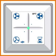 RFT-D Akor - bezdrátový dálkový ovladač se signalizací filtrů