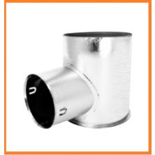 DFO Stropní / stěnový průchozí box nízký (bez izolace)